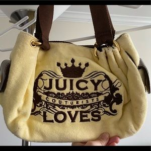 Yellow juicy purse like brand new